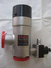 MKS Right Angle HPS High Vacuum Valve . KF40 Flanges , L2-40-AK-225-VNV-F12
