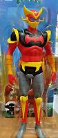 Cyborg Hiroshi Trasf. 2 Jeeg Robot d'Acciaio in SoftVinyl Toy Box High Line 23cm