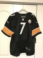 100% Guaranteed Nike Ben Roethlisberger Steelers Black Jersey Size XXL NWT