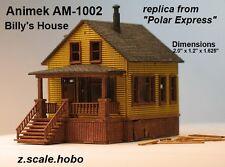 Animek Z Scale 2-Level House Farm House Polar Express Billy's *NEW $0 Ship