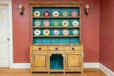 19th Century Pine Step Back Welsh Dresser (Cupboard or Hutch)