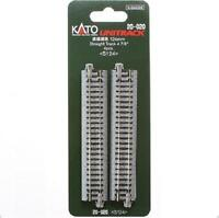 Kato 20-020 Rail Droit / Straight Track 124mm 4pcs - N