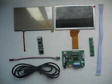 "DIY Monitor 7"" inch LCD for Raspberry Pi-(HDMI+VGA+2AV)Driver board+Touch Screen"