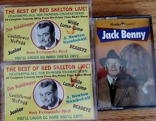 The best of Red Skelton 30 skits from live radio & Radio spirits Jack Benny