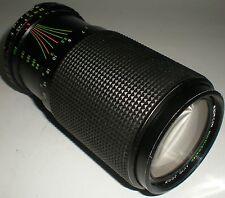 CAMERA PHOTOGRAPHY LENS MAGNICON AUTO ZOOM F=80-200MM MACRO 1:4.5