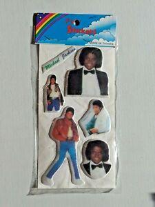 Michael Jackson Vintage Puffy Sticker NIP Sealed NOS