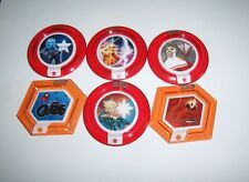 DISNEY INFINITY 2.0 Marvel Heroes Power Disc Lot 6 Rares Gauntlet Falcon Captain