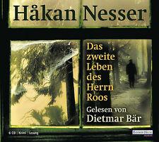 Hakan Nesser Das zweite Leben des Herrn Roos  Neu+in Folie 6 CD,s #L2