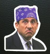 The Office Thug Life Michael Scott Bandana Head Laptop Phone Decal Sticker