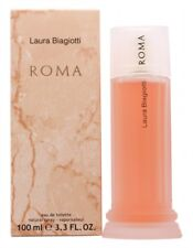 LAURA BIAGIOTTI ROMA EAU DE TOILETTE 100ML SPRAY - WOMEN'S FOR HER. NEW