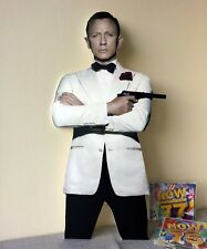 Daniel Craig Display Stand Standee Figure NEW James Bond Agent 007 Sexy Hot Man