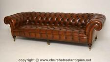Leather Victorian Sofas & Chaises (1837-1901)