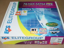 10 BRAND NEW  MOTHERBOARDS 761GX-M754 -V 3.0A   E.G    SOCKET 754, FREE SHIPPING