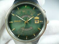 Vintage ORIENT Multi Calendar Day Automatic 21 jewels Japan Men Wrist Watch Rare
