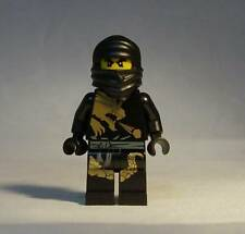 LEGO Ninjago Cole DX Minifigure 2170 2509 2520 Black Gold Dragon Suit Genuine