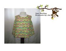 Dress 18 -24 LAV Fatto A Mano Foderato Vestito