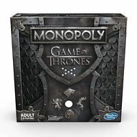 HASBRO GAMING MONOPOLY GAME OF THRONES BOARD GAME