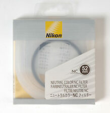 Nikon NC Neutral Color filter protection UV 52mm Camera Accessories