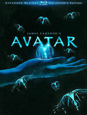 Avatar (Blu-ray Disc, 2010, 3-Disc Set, Extended Collector's Edition) Brand New