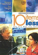 10 ITEMS OR LESS (DVD, 2007)MORGAN FREEMAN - NEW-DAY U PAY IT SHIPS