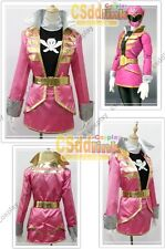 Kaizoku Sentai Gokaiger Gokai Pink Cosplay Costume