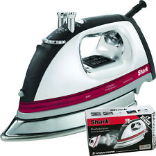 Shark Professional Laundry Steam Iron w/ Extra-Large Stainless Steel Soleplate