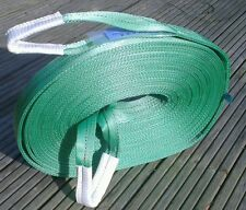 NEW 4x4 RECOVERY TOW WINCH/TOWING/STRAP/STROP ROPE 20M STROP 14 TON UK MADE