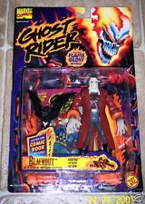 Marvel GHOST RIDER Blackout action figure Toybiz moc