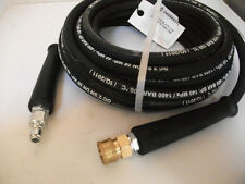 30m HEAVY DUTY HIGH PRESSURE WASHER HOSE 3/8id 330 BAR QUICK RELEASE EXTENSION