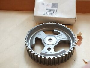 New Genuine Citroen Peugeot 1.4 1.6 HDi Camshaft Pulley 9657477580 0805H2 PC21