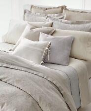 New In Bag Ralph Lauren King Comforter Alene & Shams. Silver sheen, cream,taupe