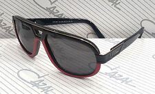 1097be35a2 Cazal Vintage Sunglasses 884 002 black red 62-15-140 100% Authentic New