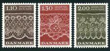 Denmark 675-677,MNH.Michel 715-717. Tonder lace patterns,1980.