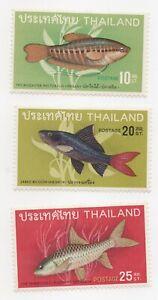 1968 Thailand Tropical Fish ot Scott # 501-3 MH