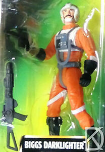 Biggs Darklighter Unopened Star Wars POTF2 1997 Freeze Frame Exc Card