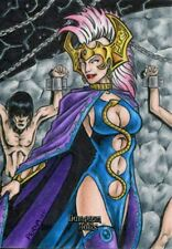 Dungeon Dolls Incentive Exclusive Sketch Card By Tony Perna