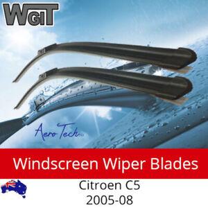 Windscreen Wiper Blades For for Citroen C5 2005-08 Aero Design PAIR