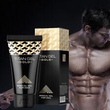Gel Male Big Penis Enhancement Enlargement Cream King Size Dick - Golden