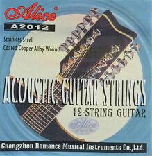 Strings, Guitar strings for Western acoustic guitars 12 stringed