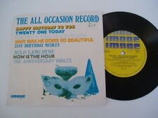 """All Occasion Record - THE SHAMROCK SINGERS - RARE 7"""""""