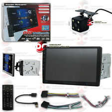 "Power Acoustik Car 2Din Dvd Bluetooth Stereo W/ 10.6"" Lcd Free 170° Rear Camera"