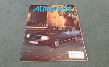1979 RENAULT AUTOWORLD Magazine Number 70 - Renault 18 UK BROCHURE