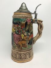 Bavarian Beer Stein With Music Box (doesn't Work)