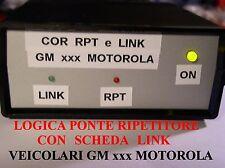 COR  PONTE RIPETITORE CON SCHEDA LINK PER VEICOLARI GM340  MOTOROLA  e ALTRI