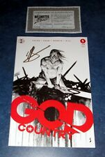 GOD COUNTRY #1 signed variant 4th print GEOFF SHAW IMAGE COMIC donny cates COA