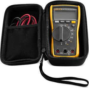 Hard Case For Fluke 115 & 117 Digital Multimeter (Case Only)