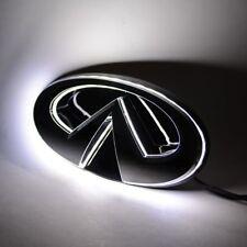 B WHIT LED Front Grille Emblem Logo infiniti G37 09 10 2011 12 2013 grill Q40 15