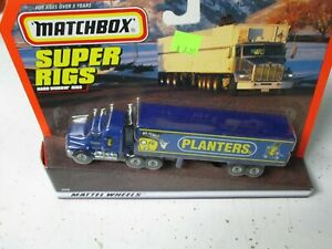 "Matchbox Convoy CY-29 Mack Box Truck- ""Planter's Peanuts"", carded"