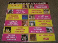 Lo Mejor De Lo Mejor Vol 4~RARE Mexico Import Latin Pop Compilation~FAST SHIP!!!
