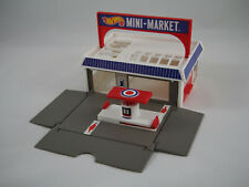 Hot Wheels - Sto & Go MINI MARKET Playset, 1987 Mattel, Sto N' Go